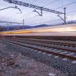 Royalty-Free Stock Photo: A high speed train