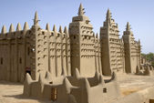 Djenne's Mosque. Mali. Africa — Stock Photo