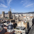 A Barcelona city great view — Stock Photo