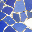 Mosaic at Parc Guell. — Stock Photo
