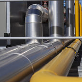 Industrial Pipelines — Stock Photo