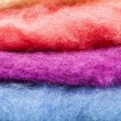 Colored pure wool — Stock Photo