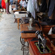 Stock Photo: Tailors and Sewing Machines on and AfricStreet