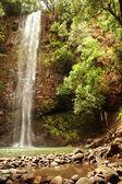 Secret Falls, Kauai, Hawaii — Stock Photo