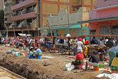 Afrika sokak satıcıları — Stok fotoğraf