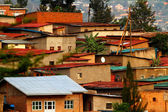 Colorful Hillside Homes — Stock Photo