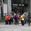 Stock Photo: Vancouver Sun Run Crew Volunteers