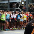 Stock Photo: Elite Racers Start line at Vancouver Sun Run