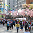 Stock Photo: Vancouver Sun Run Starting LIne