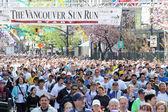 Vancouver Sun Run Mass Startline — Stock Photo