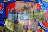 Rwandan Currency — Stock Photo