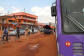 Kabale otobüs istasyonu trafik — Stok fotoğraf