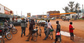 Taxi Bikes waiting in Kabale — Stock Photo