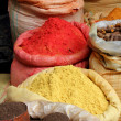 Spices Piled high in Bags — Stock Photo #30014271