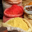 Spices Piled high in Bags — Stock Photo