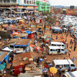 Busy Kampala Uganda — Stock Photo
