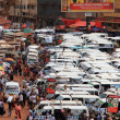 Kampala Taxi Park Business — Stock Photo
