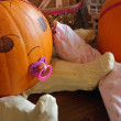 Stock Photo: Pumpkin Babies Closeup