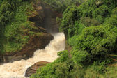 Murchison Falls From Below — Stock Photo