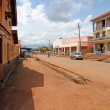 Tourist Street of Masindi, Uganda — Stock Photo