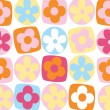 Illustration vector or seamless spring cute tiny vintage floral ,flower pattern background. — Imagen vectorial