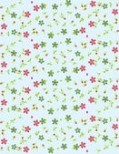 Illustration vector or seamless spring cute tiny vintage floral ,flower pattern background. — Stock Vector