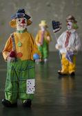The Funny Clowns — Stock Photo