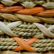 Stock Photo: Wicker Orange and Beige Texture