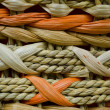 Wicker Orange and Beige Texture — Stock Photo #22116037