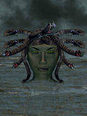 The mythological Medusa. — Stock Photo