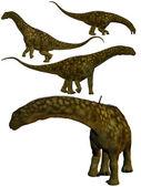 Argentinosaurus. — Stock Photo