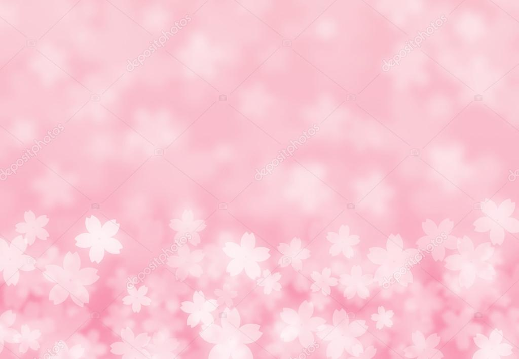 粉色樱花花瓣 — 照片作者