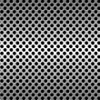 Photo: Perforated metal background