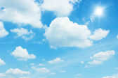 Cielo claro — Foto de Stock