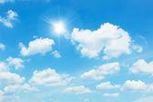 Rensa himlen — Stockfoto