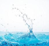 Spruzzi d'acqua — Foto Stock