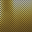 Perforated metal background -  