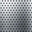 Perforated metal background — Stock Photo #24431147