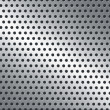 Perforated metal background — Stock Photo #24456333