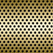 Stock Photo: Perforated metal background