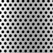 Foto Stock: Perforated metal background