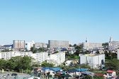 Landscape of Japanese town — Stock Photo
