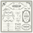 Vintage designs — Stock Vector