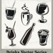 Royalty-Free Stock Vector Image: Drinks Vector Series