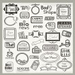 Royalty-Free Stock Vector Image: Vinyl Ready Sign Designs and Banner Headers Set