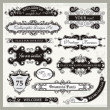 Stock Vector: Vintage Ornamental Frames and Sign Designs