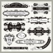Vintage Ornamental Frames and Sign Designs - Stock Vector