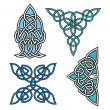 Set of Celtic ornamental designs. — Stock Vector #22444923