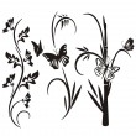 A set of 3 floral design elements. — Stock Vector #22533835