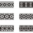 Set of Mexicornamental designs. — Stock Vector #22533867